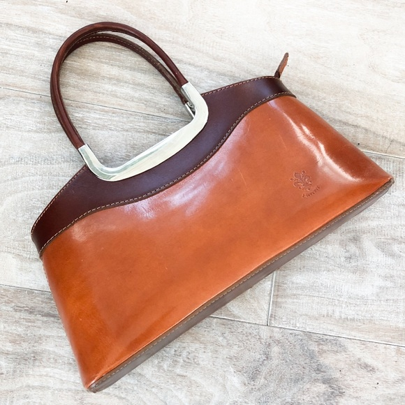 Handbags - BRAND NEW Genuine Leather Brown Bag made in Italy